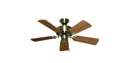 """Picture of 42"""" Dixie Belle Antique Brass with 36"""" Walnut Blades"""