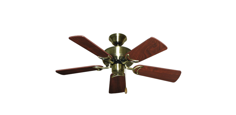 """Picture of 42"""" Dixie Belle Antique Brass with 36"""" Cherrywood Blades"""