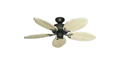 "Picture of 42"" Dixie Belle Oil Rubbed Bronze with 42"" Series 150 Arbor Whitewash Blades"