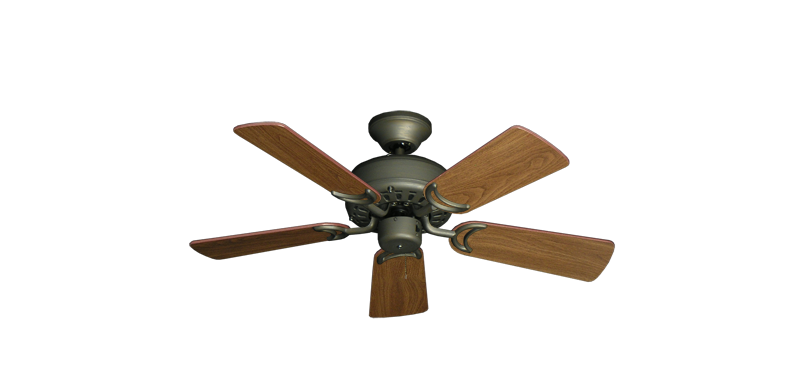 """Picture of 42"""" Dixie Belle Antique Bronze with 36"""" Walnut Blades"""