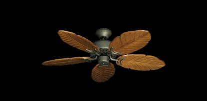 "42"" Dixie Belle Antique Bronze with 42"" Series 150 Arbor Oak Blades"