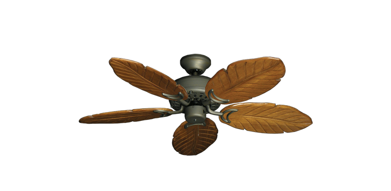 "Picture of 42"" Dixie Belle Antique Bronze with 42"" Series 150 Arbor Oak Blades"