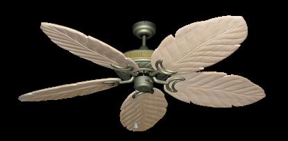 """Picture of Atlantis Antique Bronze with 58"""" Series 100 Arbor Whitewash Blades"""