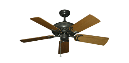 "Picture of Atlantis Oil Rubbed Bronze with 44"" Light Oak Blades"