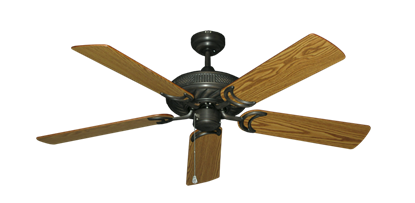 """Picture of Atlantis Oil Rubbed Bronze with 52"""" Oak Blades"""