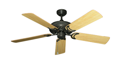 """Picture of Atlantis Oil Rubbed Bronze with 52"""" Honey Oak Gloss Blades"""
