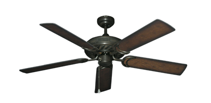 "Picture of Atlantis Oil Rubbed Bronze with 52"" Distressed Hickory Blades"