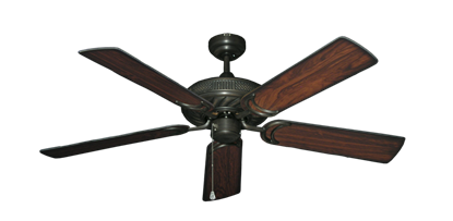"Picture of Atlantis Oil Rubbed Bronze with 52"" Burnt Cherry Blades"