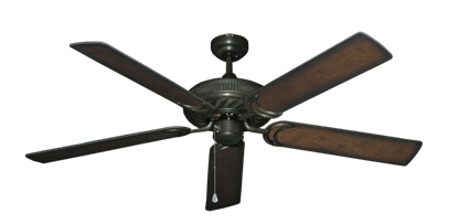 "Picture of Atlantis Oil Rubbed Bronze with 56"" Distressed Hickory Blades"