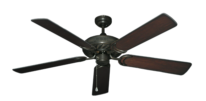 "Picture of Atlantis Oil Rubbed Bronze with 56"" Distressed Cherry Blades"