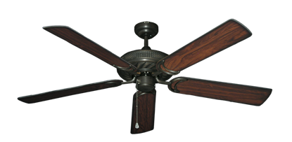 "Picture of Atlantis Oil Rubbed Bronze with 56"" Burnt Cherry Blades"