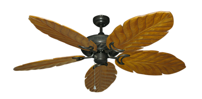 """Picture of Atlantis Oil Rubbed Bronze with 58"""" Series 100 Arbor Oak Blades"""