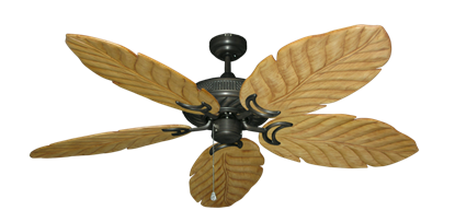 """Picture of Atlantis Oil Rubbed Bronze with 58"""" Series 100 Arbor Maple Blades"""