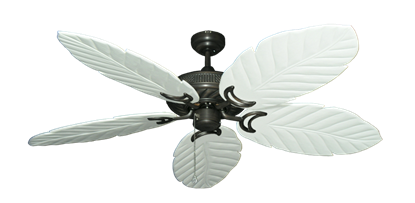 """Picture of Atlantis Oil Rubbed Bronze with 58"""" Series 100 Arbor Pure White Blades"""