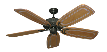"""Picture of Atlantis Oil Rubbed Bronze with 58"""" Series 800 Arbor Pecan Blades"""