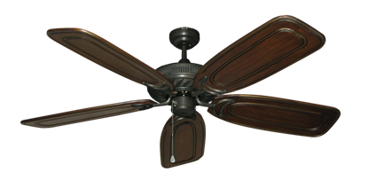 """Picture of Atlantis Oil Rubbed Bronze with 58"""" Series 800 Arbor Chestnut Blades"""