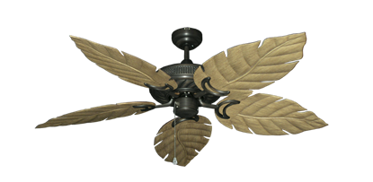 """Picture of Atlantis Oil Rubbed Bronze with 52"""" Venetian Walnut Blades"""