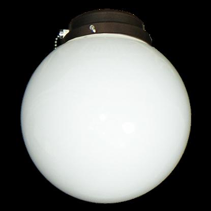 111 Round Globe White