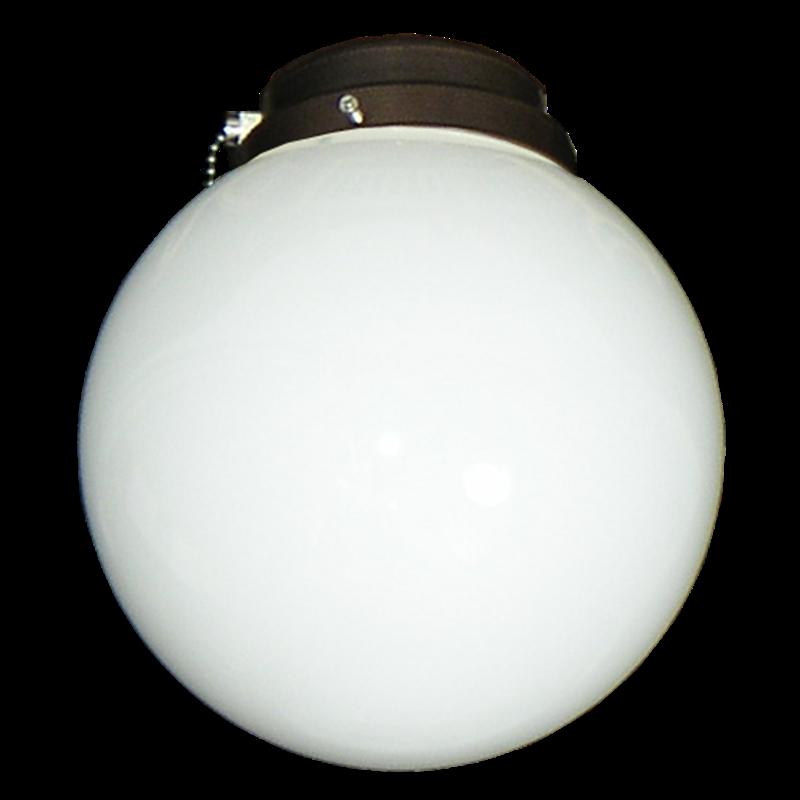 Picture of 111 Round Globe White