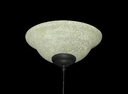 176 Basic Glass Bowl Light in Tea Stone Glass