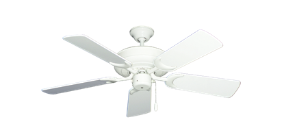 """Picture of Raindance Pure White with 44"""" Pure White Gloss Blades"""