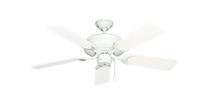 """Picture of Raindance Pure White with 44"""" Outdoor Pure White Blades"""