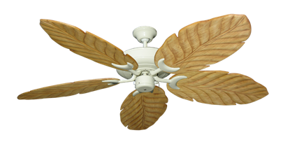 "Picture of Raindance Antique White with 58"" Series 100 Arbor Maple Blades"
