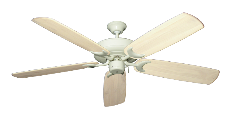 "Picture of Raindance Antique White with 60"" Series 450 Arbor Whitewash Blades"