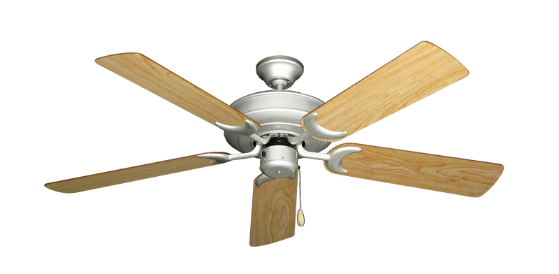 """Picture of Raindance Brushed Nickel with 52"""" Maple Blades"""