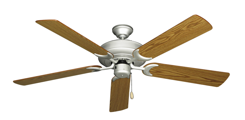 """Picture of Raindance Brushed Nickel with 56"""" Oak Blades"""