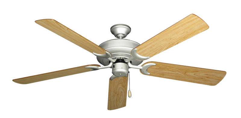 """Picture of Raindance Brushed Nickel with 56"""" Maple Blades"""