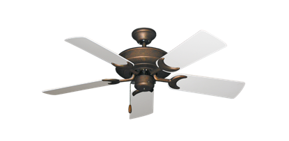 """Picture of Raindance Burnished Copper with 44"""" Pure White Blades"""