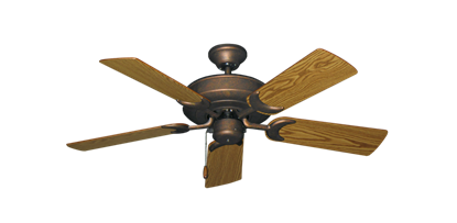 """Picture of Raindance Burnished Copper with 44"""" Oak Blades"""