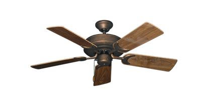 """Picture of Raindance Burnished Copper with 44"""" Walnut Gloss Blades"""