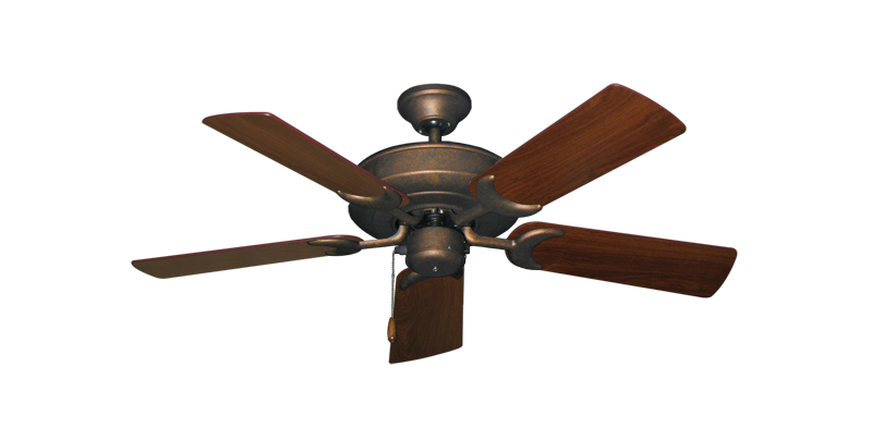 "Picture of Raindance Burnished Copper with 44"" Walnut Blades"