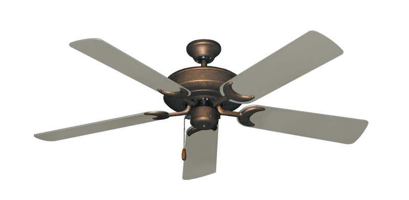 """Picture of Raindance Burnished Copper with 52"""" Satin Steel (painted) Blades"""