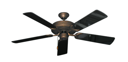 """Picture of Raindance Burnished Copper with 52"""" Black Gloss Blades"""