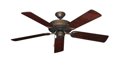 """Picture of Raindance Burnished Copper with 52"""" Cherrywood Gloss Blades"""