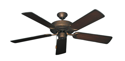 """Picture of Raindance Burnished Copper with 52"""" Distressed Cherry Blades"""