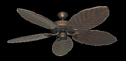 "Picture of Raindance Burnished Copper with 58"" Series 100 Arbor Dark Walnut Blades"
