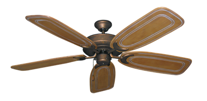 """Picture of Raindance Burnished Copper with 58"""" Series 800 Arbor Pecan Blades"""