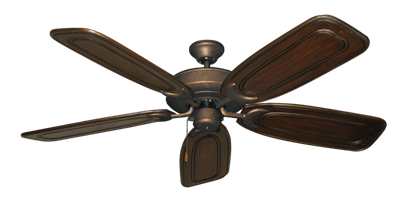 """Picture of Raindance Burnished Copper with 58"""" Series 800 Arbor Chestnut Blades"""