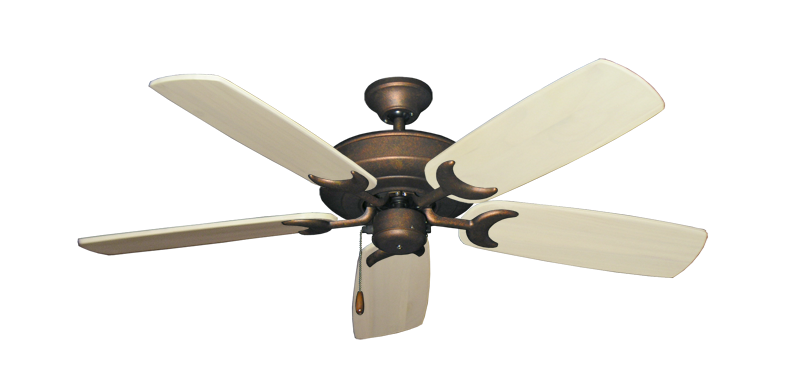 "Picture of Raindance Burnished Copper with 52"" Series 425 Arbor Whitewash Blades"