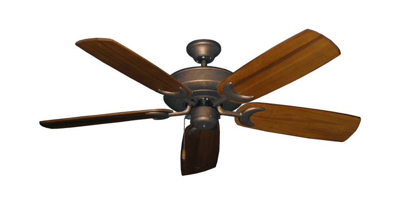 "Picture of Raindance Burnished Copper with 52"" Series 425 Arbor Oak Blades"