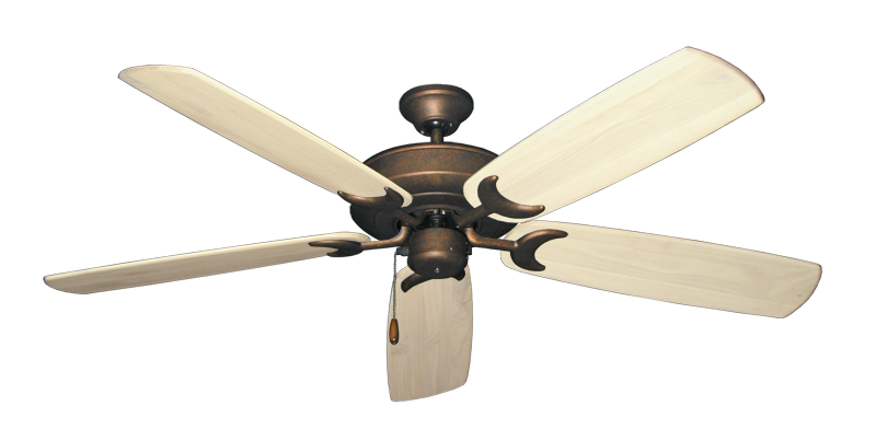 "Picture of Raindance Burnished Copper with 60"" Series 450 Arbor Whitewash Blades"