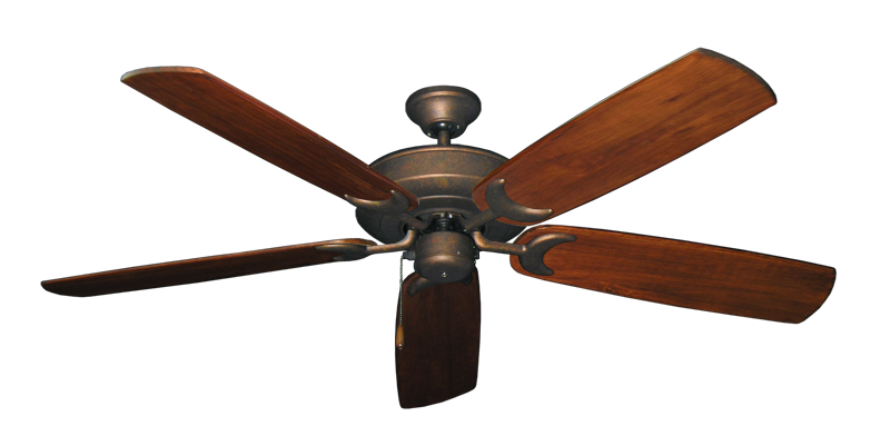"Picture of Raindance Burnished Copper with 60"" Series 450 Arbor Cherrywood Blades"
