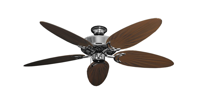 "Picture of Dixie Belle Chrome with 52"" Outdoor Palm Oil Rubbed Bronze Blades"