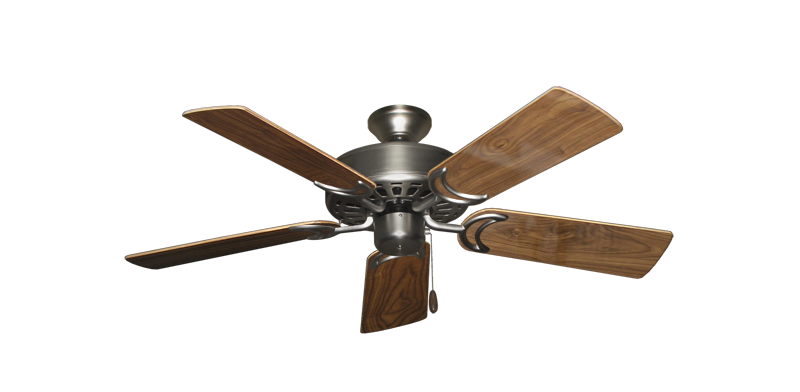 """Picture of Dixie Belle Satin Steel with 44"""" Walnut Gloss Blades"""