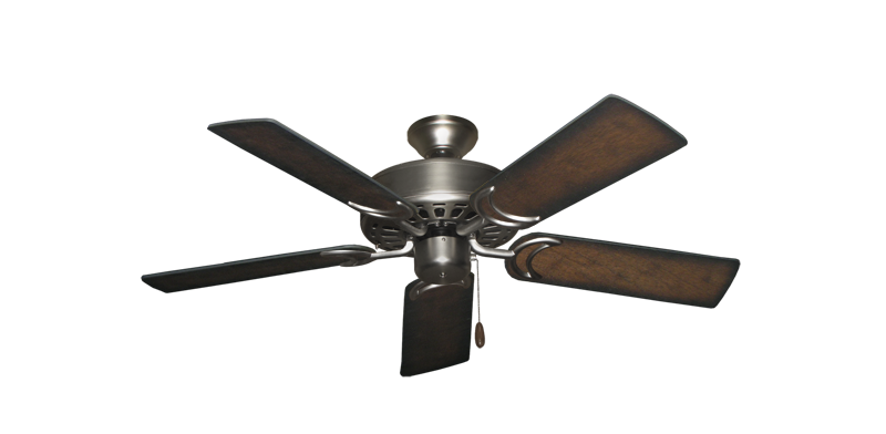 """Picture of Dixie Belle Satin Steel with 44"""" Distressed Hickory Blades"""