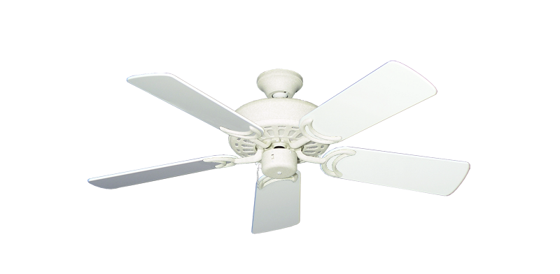 """Picture of Dixie Belle Navajo White with 44"""" Pure White Gloss Blades"""